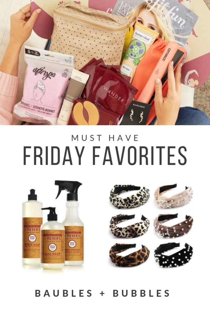 Friday Favorites | Baubles + Bubbles