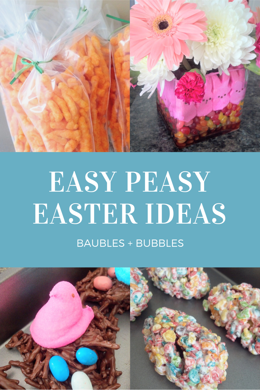 Easy Easter Ideas | Baubles + Bubbles