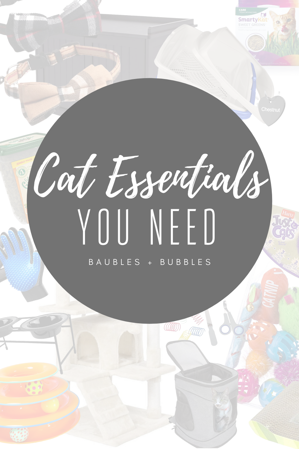 Cat Essentials | Baubles & Bubbles Blog