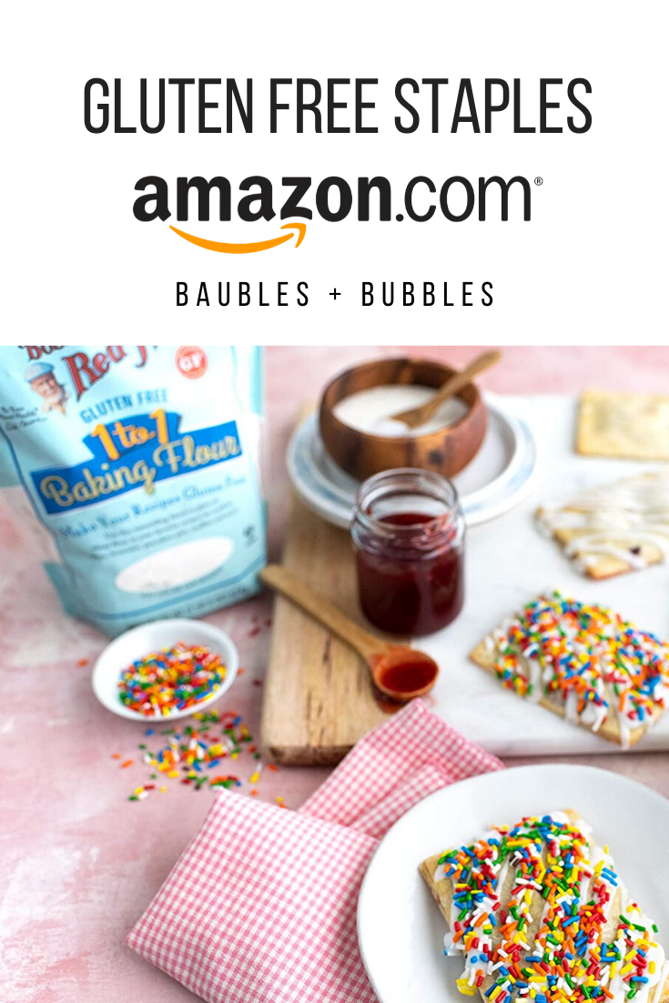 Amazon Essentials - Gluten Free Pantry Staples | Baubles + Bubbles
