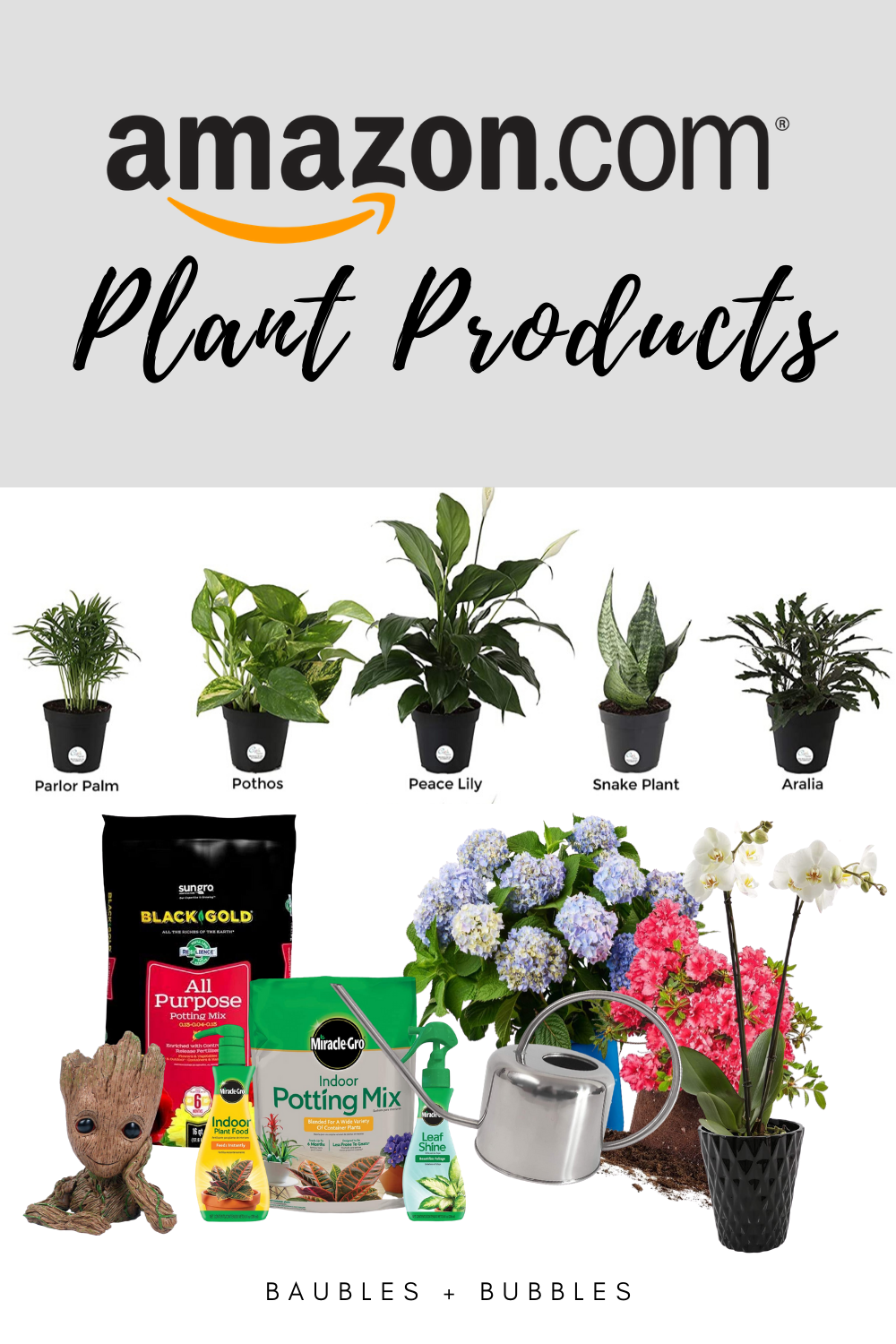 Amazon Essentials - Must Have Plant Products | Baubles + Bubbles